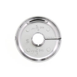 "3/8"" Flexible Floor & Ceiling Plate, 3/8"" IPS, 2.572"" ID (Box of 12) Product Image"