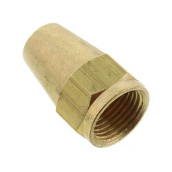 "(41L-6) 3/8"" Brass Long Flare Nut Product Image"