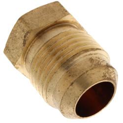 """(39-10) 5/8"""" Brass Flare Plug"""