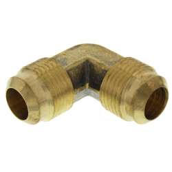 "(55-10) 5/8"" Brass Flare Elbow Product Image"