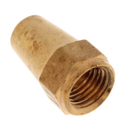 "1/4"" OD Brass Long Flare Nut Product Image"