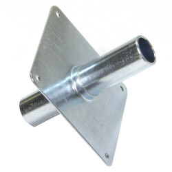 "1/2"" Metal Straight-through Support"