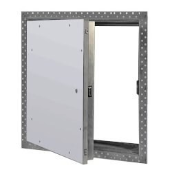 """12"""" x 12"""" Uninsulated Fire Rated Recessed Access Door for Drywall (Steel) Product Image"""