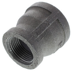 "1-1/4"" x 1"" Black Coupling Product Image"