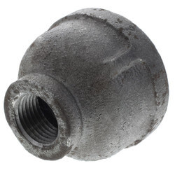 "1-1/4"" x 1/2""<br>Black Coupling Product Image"
