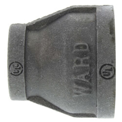 "1-1/4"" x 3/4""<br>Black Coupling Product Image"