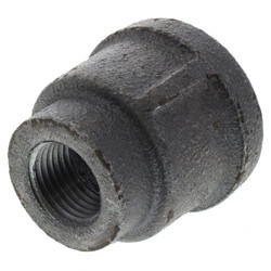 "1"" x 1/2"" Black Coupling Product Image"