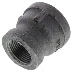 "1"" x 3/4"" Black Coupling Product Image"