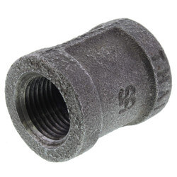"3/8"" Black Coupling Product Image"