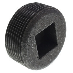 "1-1/2"" Black Countersunk Plug Product Image"