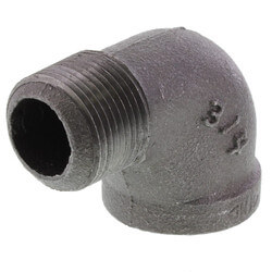 "3/4"" Black 90° Street Elbow Product Image"