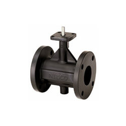 "2"" Cast Iron Flanged End Butterfly Valve, EPDM, Lever Handle (200 PSI) Product Image"