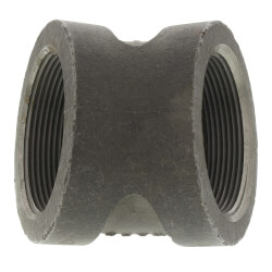 """1/2"""" Black Cast Iron<br>Steam 45° Elbow Product Image"""