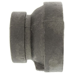 "1"" x 3/4"" Black Cast Iron Steam Reducer Product Image"