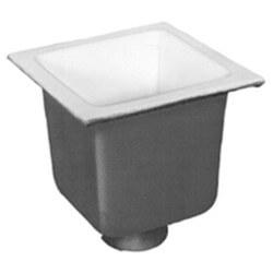 "12"" X 12"" A.R.E. Floor Sink, 10"" Sump, 4"" Conn. w/ Sediment Bucket Product Image"