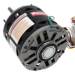 "5-5/8"" PSC Motor, 1/2 - 1/6 HP, 1075 RPM, Reversible (277V) Product Image"