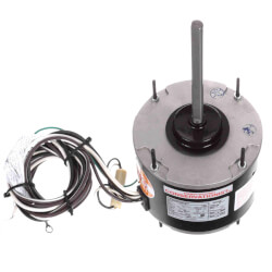 """5-5/8"""" 1-Spd Outdoor Ball Bearing PSC Motor (208 230V, 1075 RPM, 1/4 HP) Product Image"""