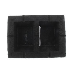 "Hef-T-Foot Roof Block 9.8"" w/ 1.6"" x 8"" Strut Product Image"