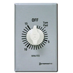 FF Series Commercial Auto-Off Timer, SPST with Hold (15 Minutes) Product Image