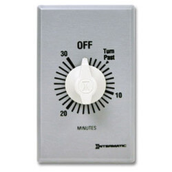 FF Series Commercial Auto-Off Timer, DPST (30 Minutes) Product Image