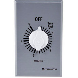 FF Series Commercial Auto-Off Timer, SPST (5 Minutes) Product Image