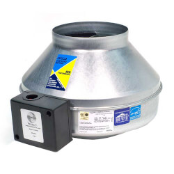 "FG Series Round Inline Exhaust Fan, 10"" Duct (513 CFM)"