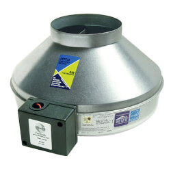 "FG Series Round Inline Exhaust Fan, 10"" Duct (589 CFM)"