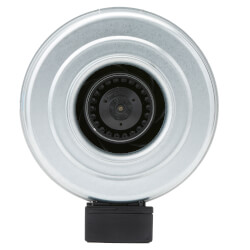 """FG Series Round Inline Exhaust Fan, 5"""" Duct<br>(156 CFM) Product Image"""