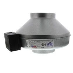 """FG Series Round Inline Exhaust Fan, 6"""" Duct (418 CFM)"""