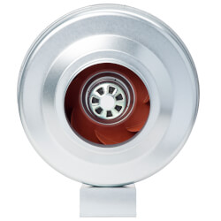 """FG Series Round Inline <br>Exhaust Fan, 6"""" Duct, <br>EC Motor (363 CFM) Product Image"""