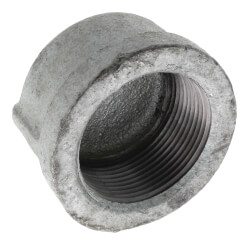 "1-1/2"" Galv Cap Product Image"