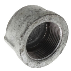 "1-1/4"" Galv Cap Product Image"