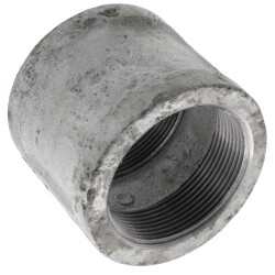 "1/2"" x 1/8"" Galv Pipe Coupling"