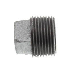 "1/2"" Galv Regular<br>Cored Plug Product Image"