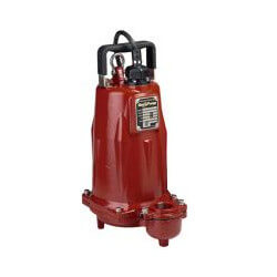 1 HP C.I. Submersible Man. Effluent Pump<br>440-480V, 25' Cord - 3 Ph. Product Image