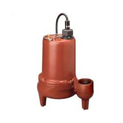 1/2 HP C.I. Man. Submersible Effluent Pump - 208-230V, 10' Cord Product Image