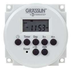 One Channel Electronic Time Switch, 15A, SPDT (24V) Product Image