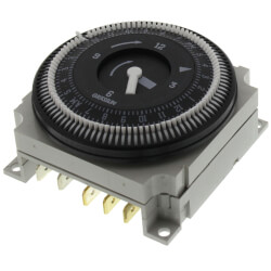 FM1 Series Electromechanical Timer Module, 21A, SPDT (24V) Product Image