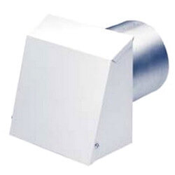 """14"""" Metal Wall<br>Intake Hood Product Image"""