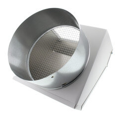 """FML8 Fixed Metal Hood for Supply or Exhaust, 8"""" Duct (Single Unit) Product Image"""