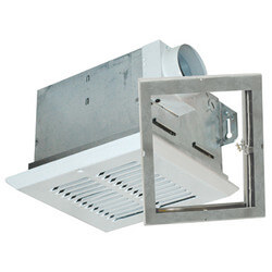 "FRAK80 Energy Star<br>Fire Rated Exhaust Fan<br>w 4"" Duct (80 CFM) Product Image"