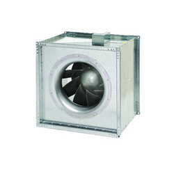 "FSD Series Square Inline Mixed Flow Centrifugal Fan, 18"" Duct (2,463 CFM)"