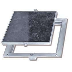 "24"" x 24"" FT-8080 Non<br>Hinged: Floor Doors<br>w/ 1/8"" Panel Recessed Product Image"