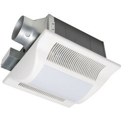 WhisperFit-Lite 80 CFM Ceiling Ventilation Fan w/ Light