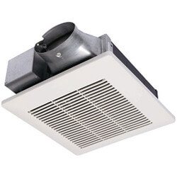 WhisperValue 50 CFM Super Low Profile Ceiling/Wall Ventilation Fan