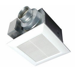 WhisperGreen 80 CFM Ceiling Ventilation Fan w/ Built-in Controls