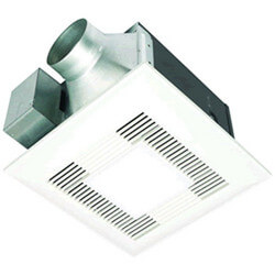 WhisperLite 110 CFM Ceiling Ventilation Fan w/ Light