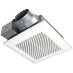 WhisperValue 100 CFM Lowest Profile Ceiling/ Wall Vent Fan (1 Sone) Product Image