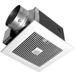 WhisperGreen 130 CFM Ceiling Ventilation Fan w/ Built-in Controls & Motion Sensor