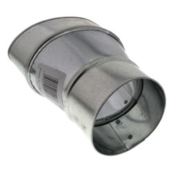 """WhisperValue 4"""" Oval to 3"""" Round Duct Adapter Product Image"""